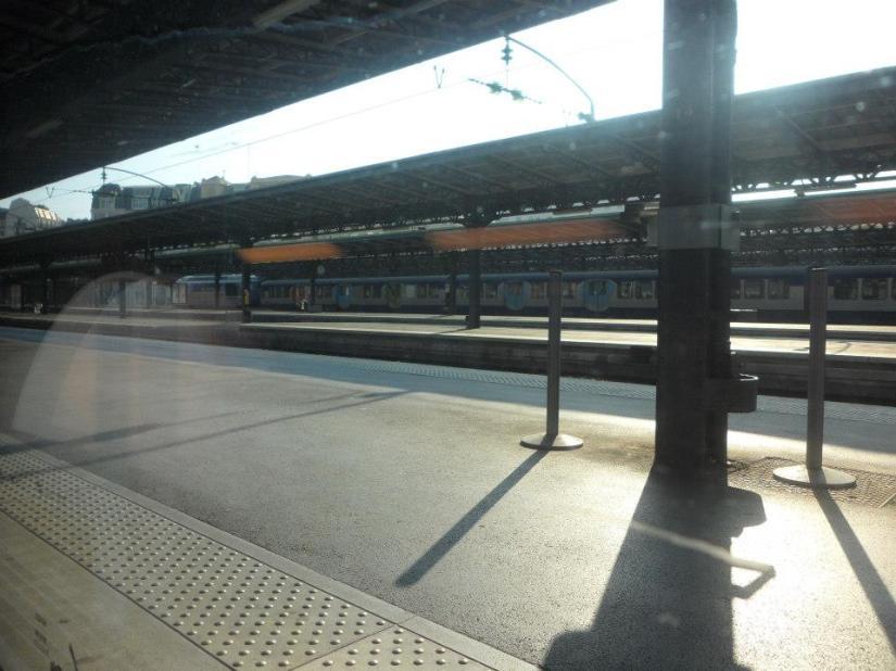 Germany train station